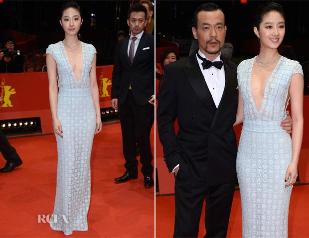 Gwei Lun Mei In Burberry Prorsum - 'Black Coal, Thin Ice' (Bai Ri Yan Huo) Berlin Film Festival Premiere