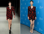 Gwei Lun Mei In Saint Laurent - 'Black Coal, Thin Ice' (Bai Ri Yan Huo) Berlin Film Festival Photocall