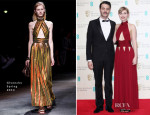 Imogen Poots In Givenchy - 2014 BAFTAs