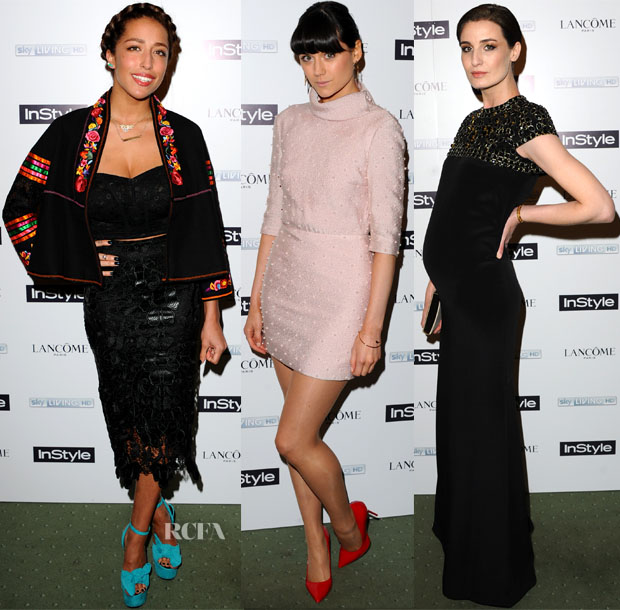 InStyle Best Of British Talent Pre-BAFTA Party Red Carpet Roundup