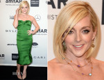 Jane Krakowski In Zac Posen - 2014 amfAR New York Gala