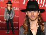Jared Leto In Lanvin - The Hollywood Reporter's Nominee Party