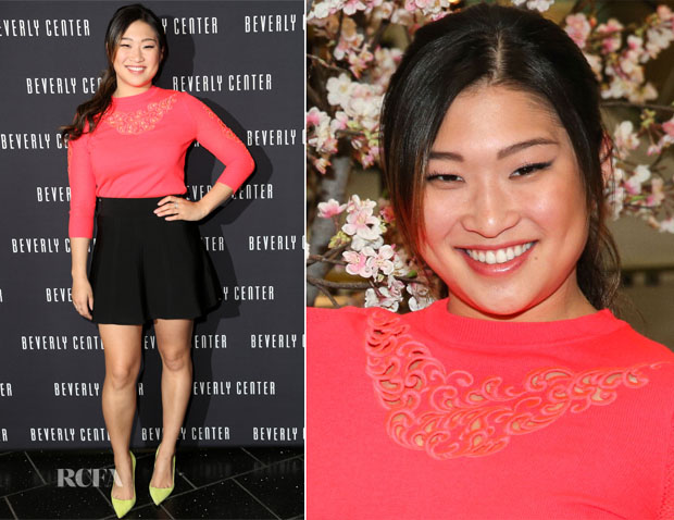 Jenna Ushkowitz In Ted Baker London - Chinese New Year Celebration