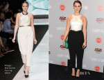 Jessica Lowndes In Peggy Hartanto - Vanity Fair and FIAT Celebration Of 'Young Hollywood'