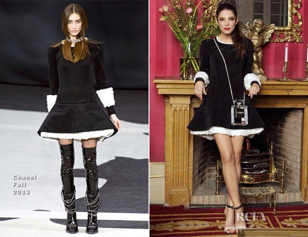 Juana Acosta In Chanel - Bvlgari Private Party