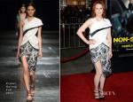 Julianne Moore In Prabal Gurung - 'Non-Stop' LA Premiere