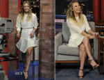 Kaley Cuoco In Camilla and Marc - Late Show with David Letterman