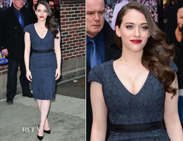 Kat Dennings In Rubin Singer - Late Show with David Letterman