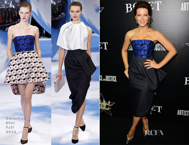 Kate Beckinsale In Christian Dior - 7th Annual Hollywood Domino And Bovet 1822 Gala