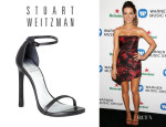 Kate Beckinsale's Stuart Weitzman 'Nudist' Single Band Sandals