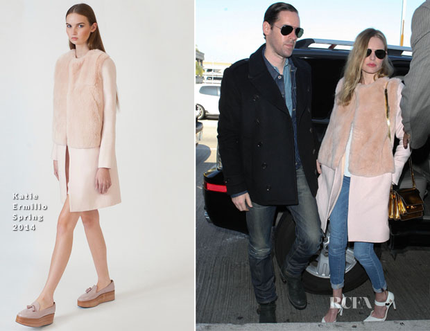 Kate Bosworth In Katie Ermilio - LAX