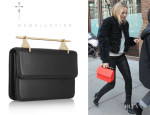 Kate Hudson's M2Malletier 'La Fleur Du Mal' Leather Clutch