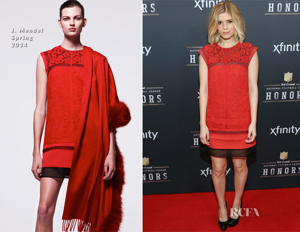 Kate Mara In J Mendel - 3rd Annual NFL Honors