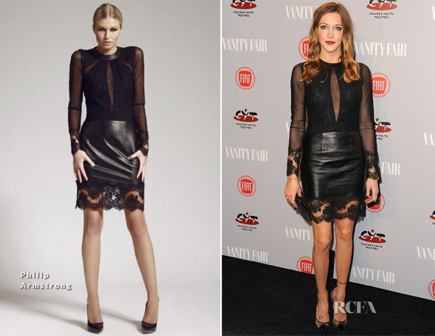 Katie Cassidy In Philip Armstrong - Vanity Fair and FIAT Celebration Of 'Young Hollywood'
