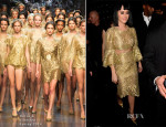 Katy Perry In Dolce & Gabbana - Universal Music Brit Awards After-Party