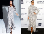 Kelly Rowland In Juan Carlos Obando - 2014 amfAR New York Gala