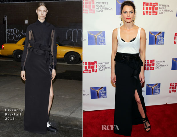Keri Russell In Givenchy - 66th Annual Writers Guild Awards East Coast Ceremony