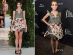 Kiernan Shipka In Delpozo – 16th Annual Costume Designers Guild Awards