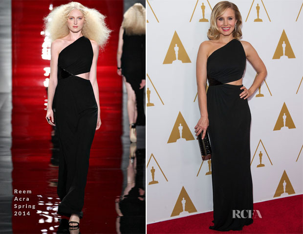 Kristen Bell In Reem Acra - Academy of Motion Picture Arts and Sciences' Scientific and Technical Awards