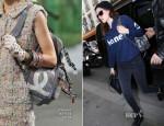 Kristen Stewart In Chanel - Out In Paris