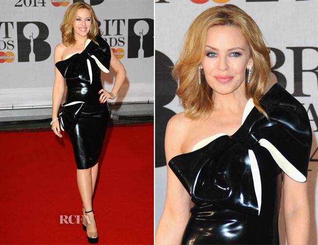 Kylie Minogue In William Wilde -  Brit Awards 2014