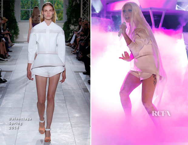 Lady Gaga In Balenciaga - The Tonight Show Starring Jimmy Fallon