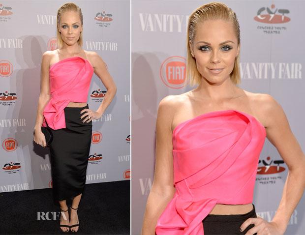 Laura Vandervoort In Rubin Singer - Vanity Fair and FIAT Celebration Of 'Young Hollywood'