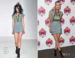 Laura Whitmore In Mark Fast & - NME Awards 2014