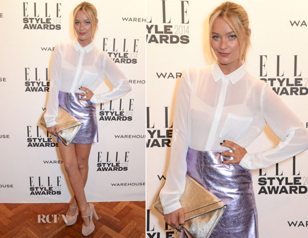 Laura Whitmore In Warehouse - Elle Style Awards 2014