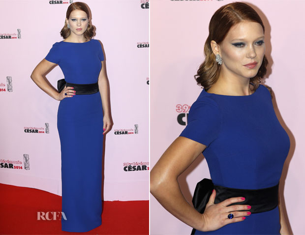 Lea Seydoux In Prada - Cesar Film Awards 2014