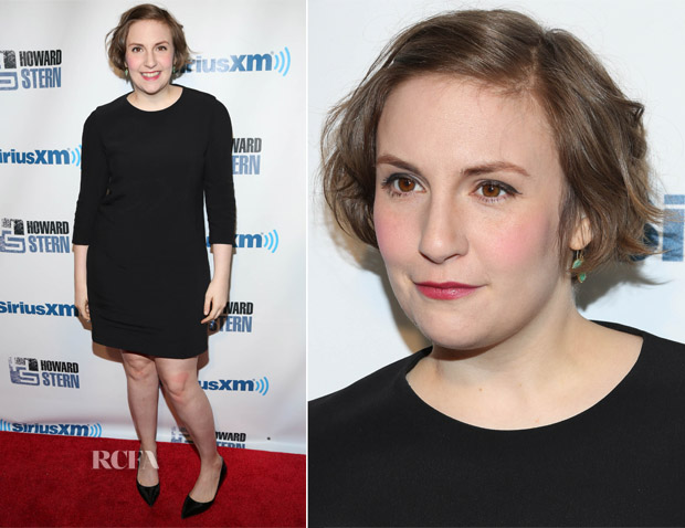 Lena Dunham In  Narciso Rodriguez - SiriusXM's 'Howard Stern Birthday Bash'