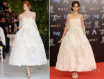 Leticia Dolera In Delpozo - Goya Cinema Awards 2014