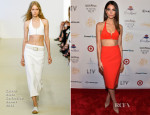Lily Aldridge In Calvin Klein Collection - Sports Illustrated 'Club SI' Party