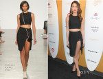 Lily Aldridge In Thakoon - Sports Illustrated Swimsuit Celebrates 50 Years Of Swim In NYC