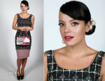 Lily Allen In Chanel - Charles Finch & Chanel Pre BAFTA Party