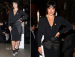 Lily Allen In Roland Mouret - Centrepoint's Ultimate Pub Quiz
