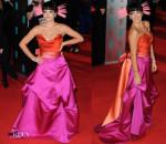 Lily Allen In Vivienne Westwood - 2014 BAFTAs
