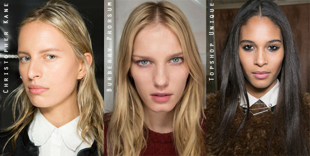 London Fashion Week Beauty Trend Easy, Effortless Hair