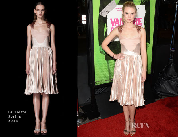 Lucy Fry In Giulietta - 'Vampire Academy' LA Premiere