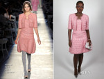 Lupita Nyong'o In Chanel Couture - Charles Finch & Chanel Pre BAFTA Party