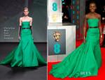 Lupita Nyong'o In Christian Dior Couture - 2014 BAFTAs
