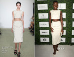 Lupita Nyong'o In Giambattista Valli - 7th Annual ESSENCE Black Women In Hollywood Luncheon