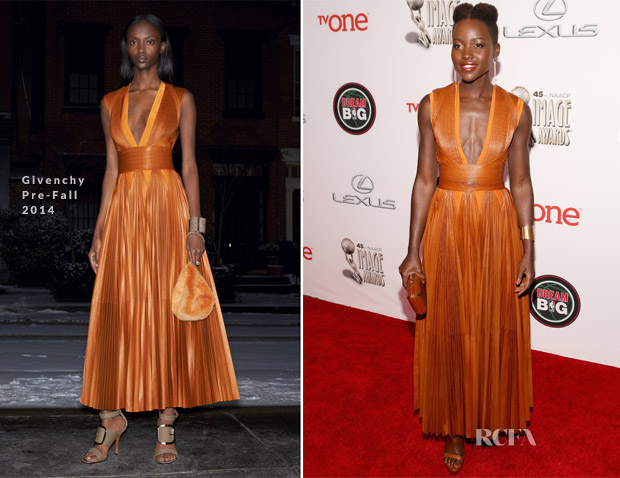 Lupita Nyong'o In Givenchy - NAACP Image Awards 2014