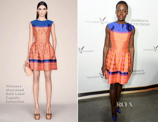 Lupita Nyong'o In Vivienne Westwood - Q&A With His Holiness the 14th Dalai Lama