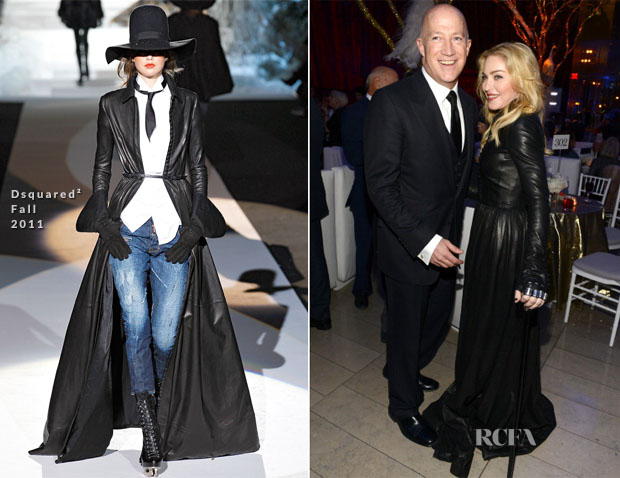 Madonna In Dsquared² Fall 2011 - Great American Songbook Event Honoring Bryan Lourd