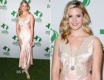 Maggie Grace In Vintage - Global Green USA's 11th Annual Pre-Oscar Party