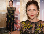 Maggie Gyllenhaal In Prada - 'River Of Fundament' World Premiere