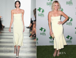 Malin Akerman In Wes Gordon - Global Green USA's 11th Annual Pre-Oscar Party