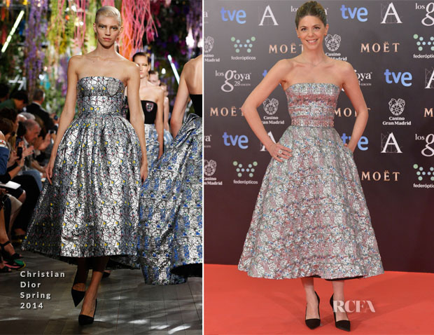 Manuela Velasco In Christian Dior - Goya Awards 2014