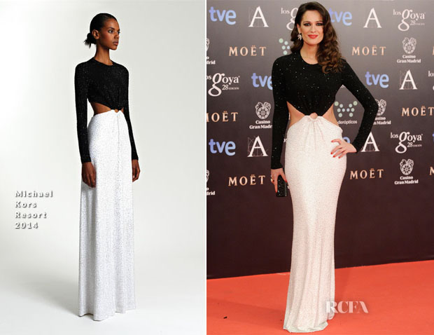 Mar Saura In Michael Kors - Goya Cinema Awards 2014